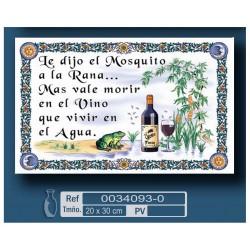 Ref. El vino